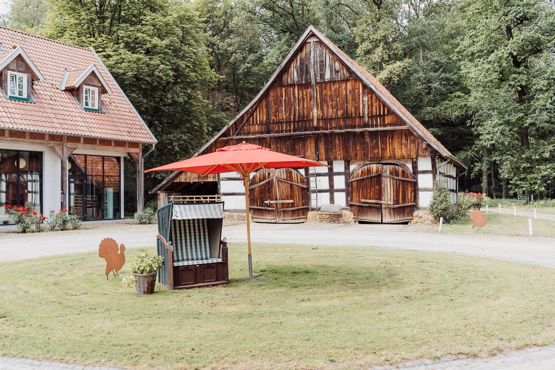 Scheune auf dem Meierhof Rassfeld