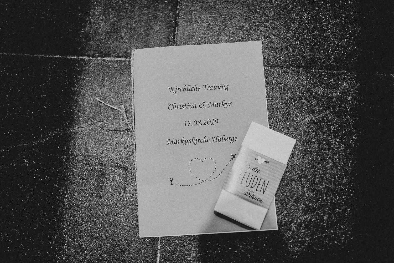 Kirchenheft Hochzeit