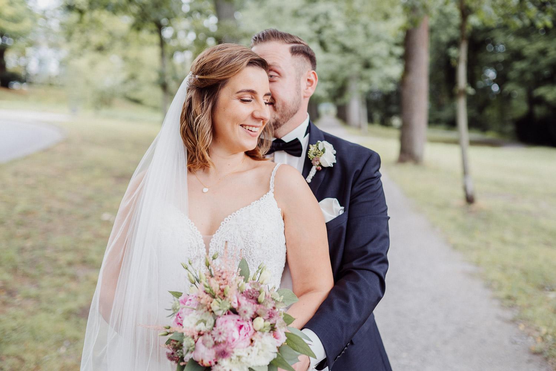 Hochzeitsfotos auf dem Johannisberg in Bielefeld