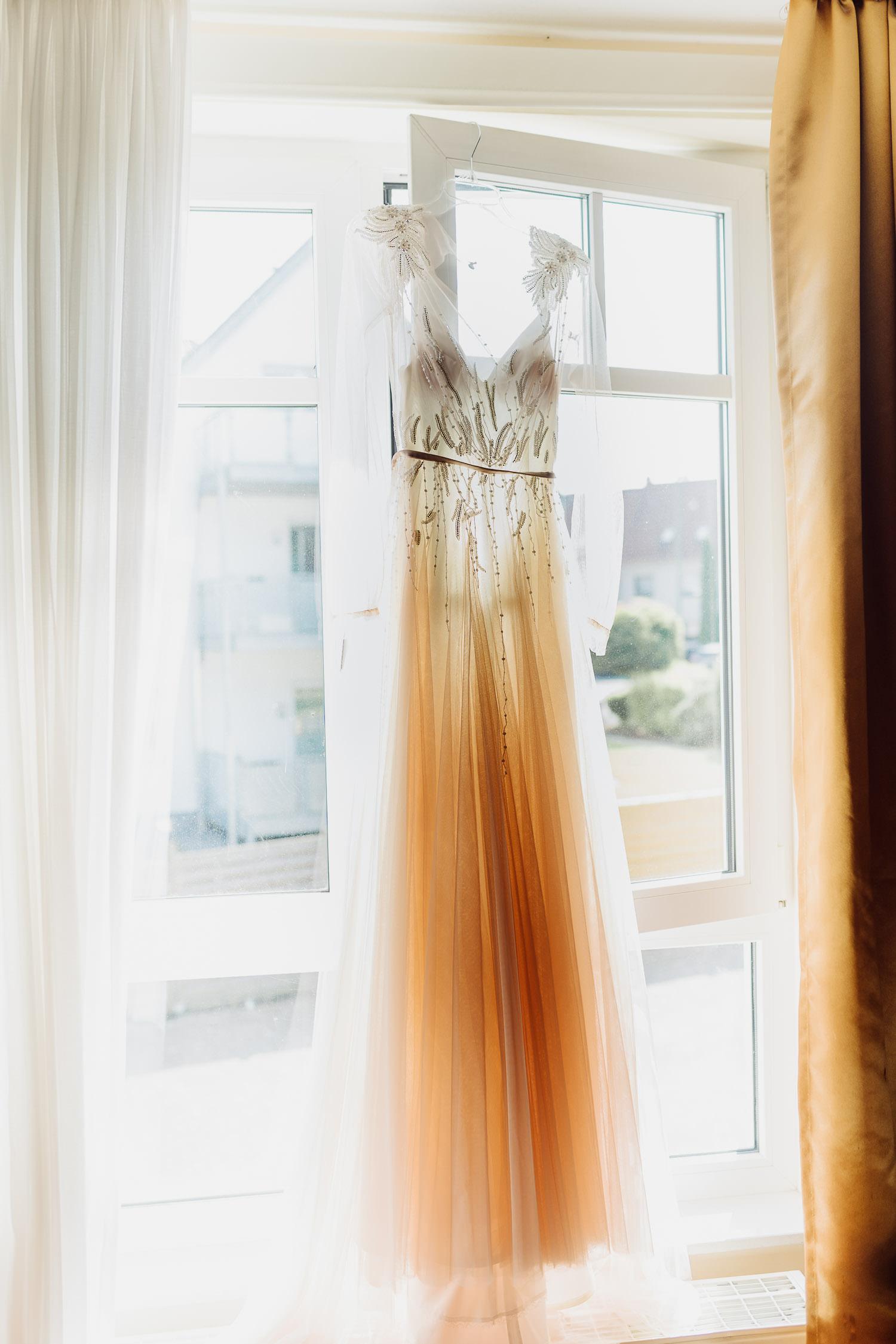Brautkleid Farbe Rose