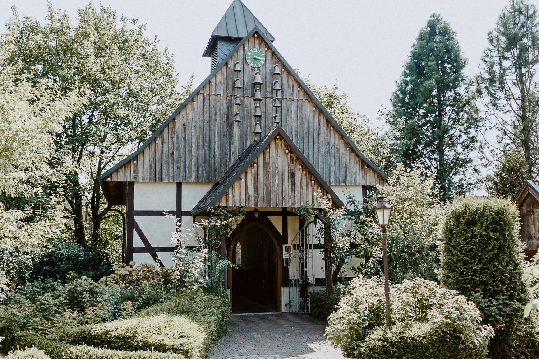 Kapelle in Liebhart Fachwerkdorf Detmold