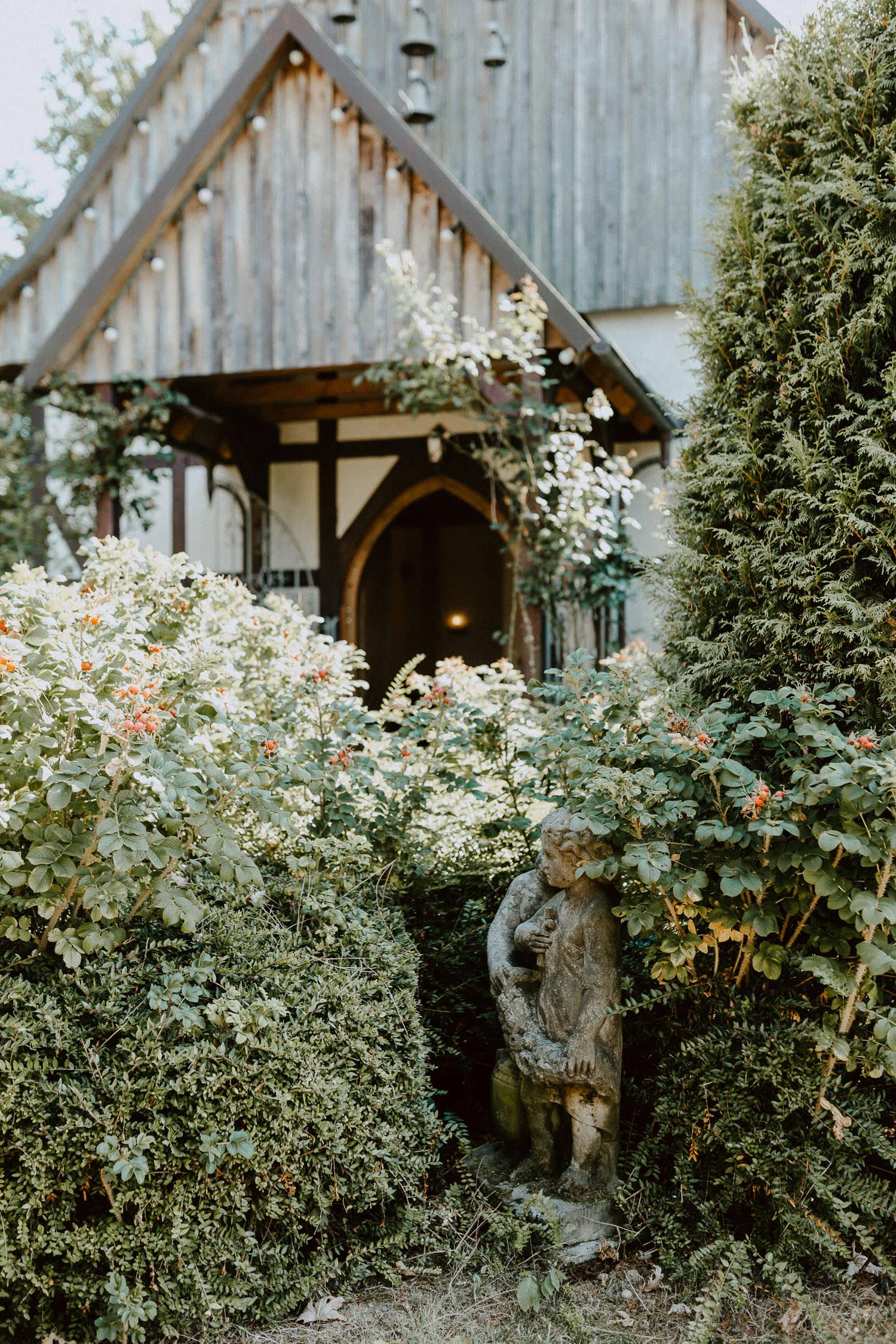 Garten der Kapelle in Detmold