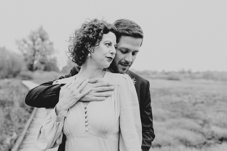 Brautpaar im Gartenschaupark
