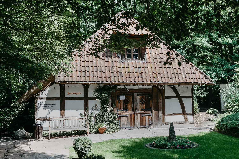 Hirtenkapelle im gastlichen Dorf Delbrück