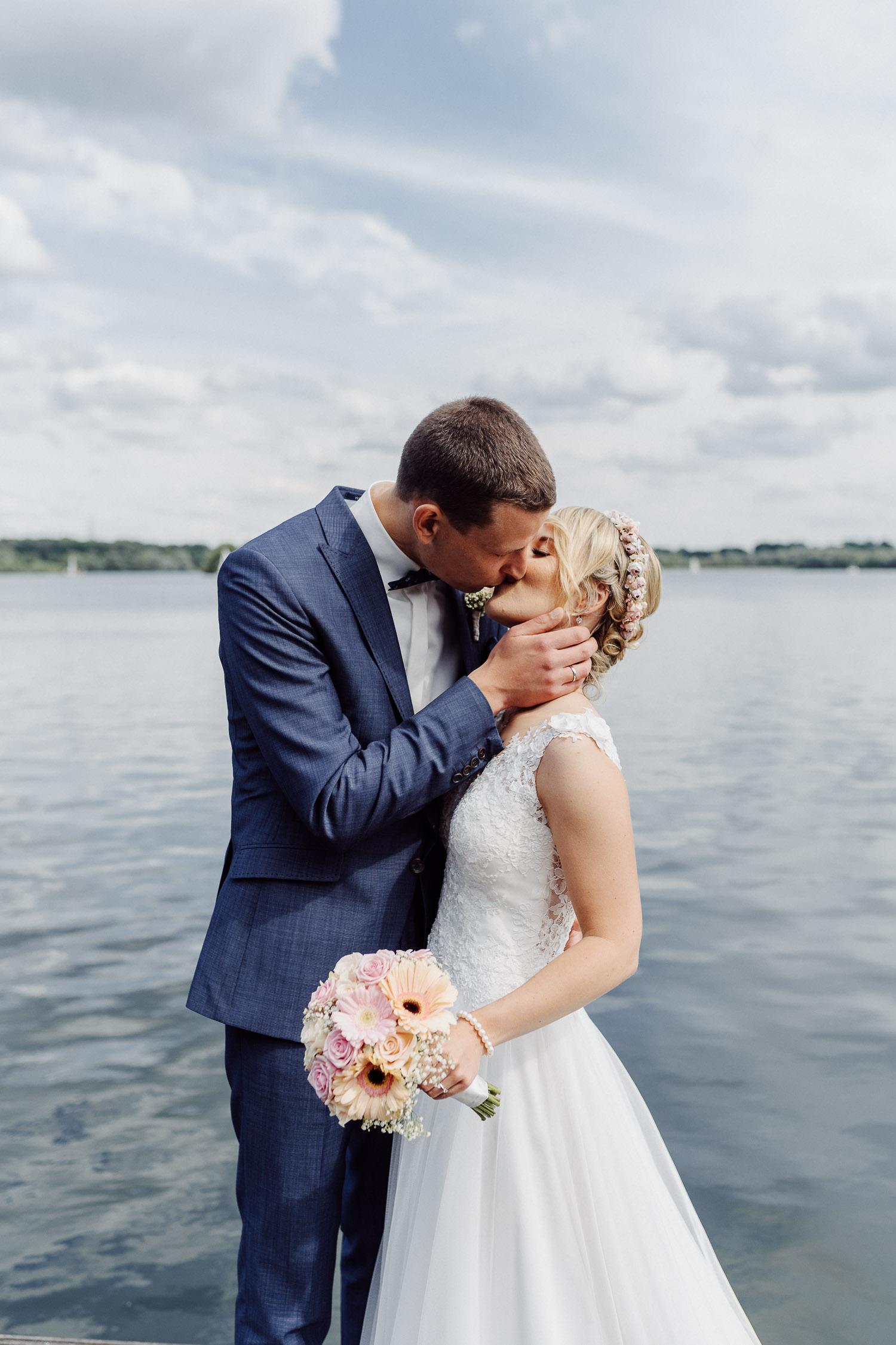 Hochzeitsfoto am Lippesee