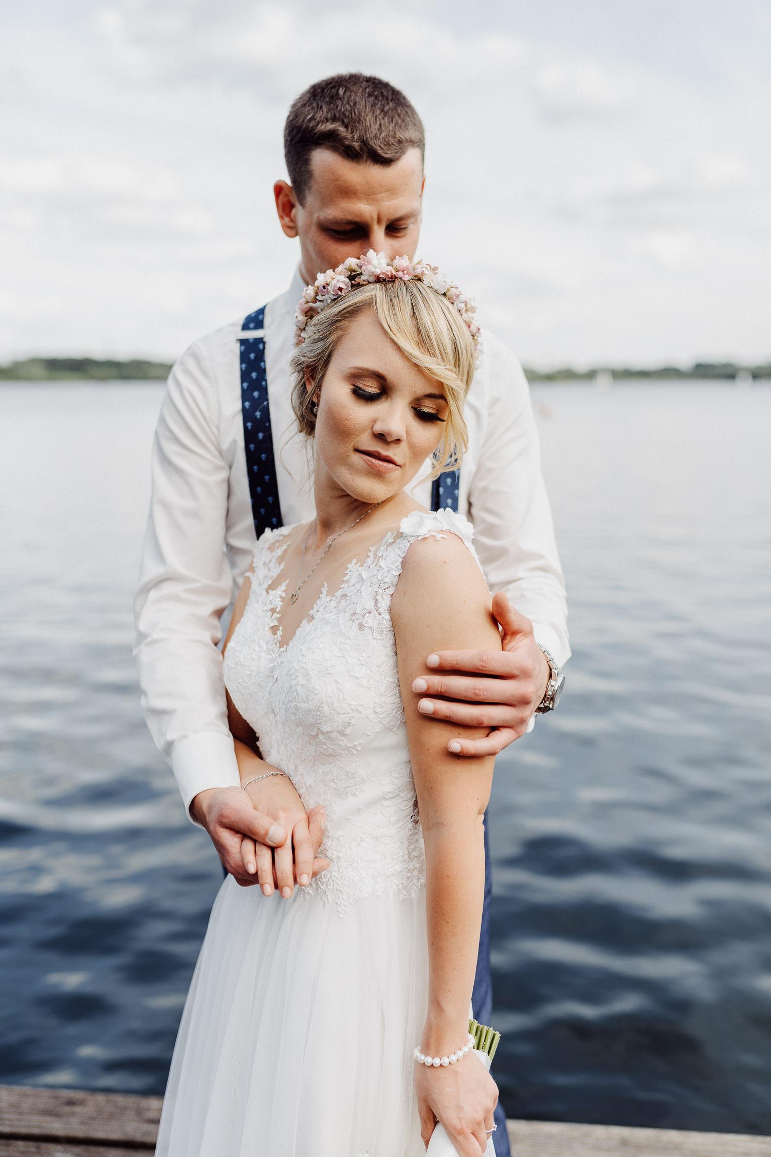 Hochzeitsfoto am Lippesee Paderborn