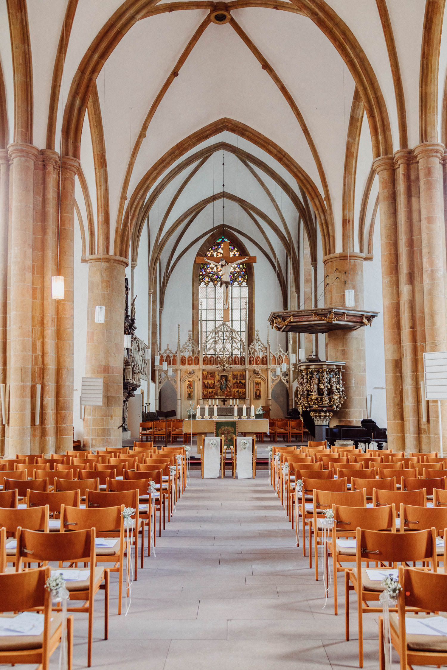 Neustädter Marienkirche von Innen
