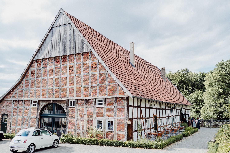 Hof von Laer Bielefeld von außen
