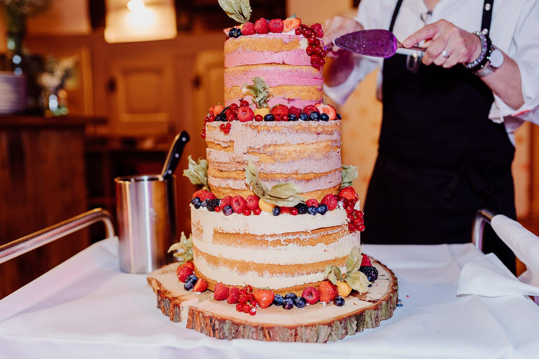 Naked Cake auf dem Hof von Laer