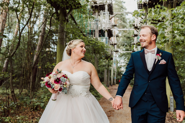 Hochzeitsfoto Kletterpark LGS Rietberg