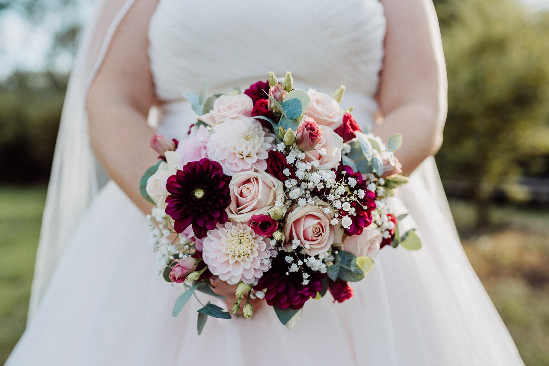 Blumenstrauß Braut Lind am See