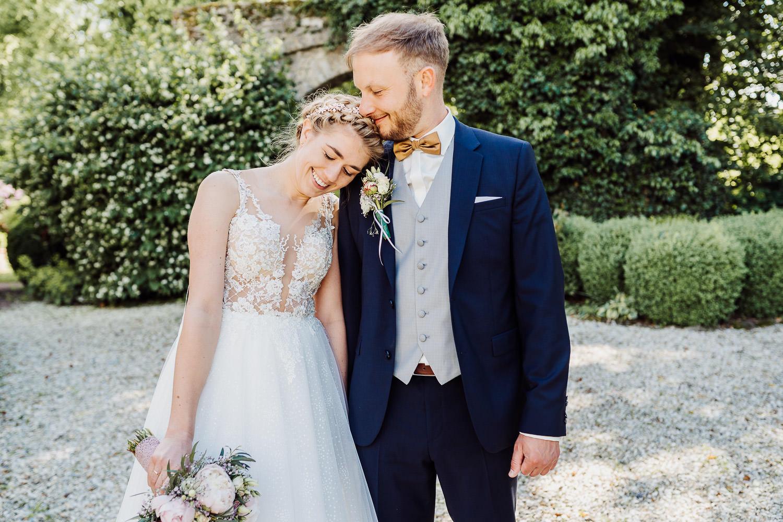 Hochzeitsfoto an der Remise Niederbarkhausen