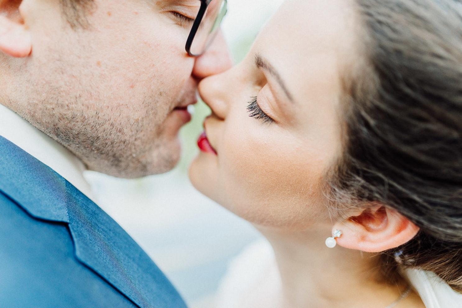 Brautpaarshooting in intimer Atmosphäre in Bielefeld