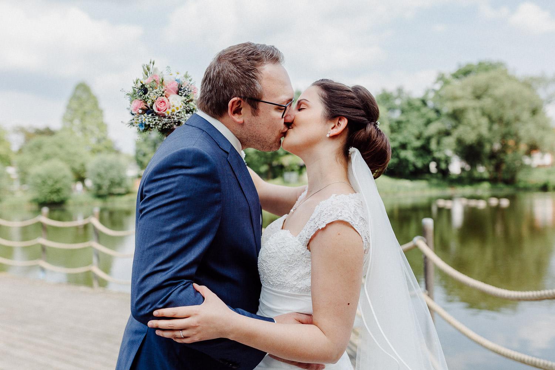 Hochzeitsfotograf Bielefeld Hochzeitsfoto Emssee