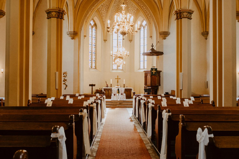 Innenraum Kirche Ubedissen