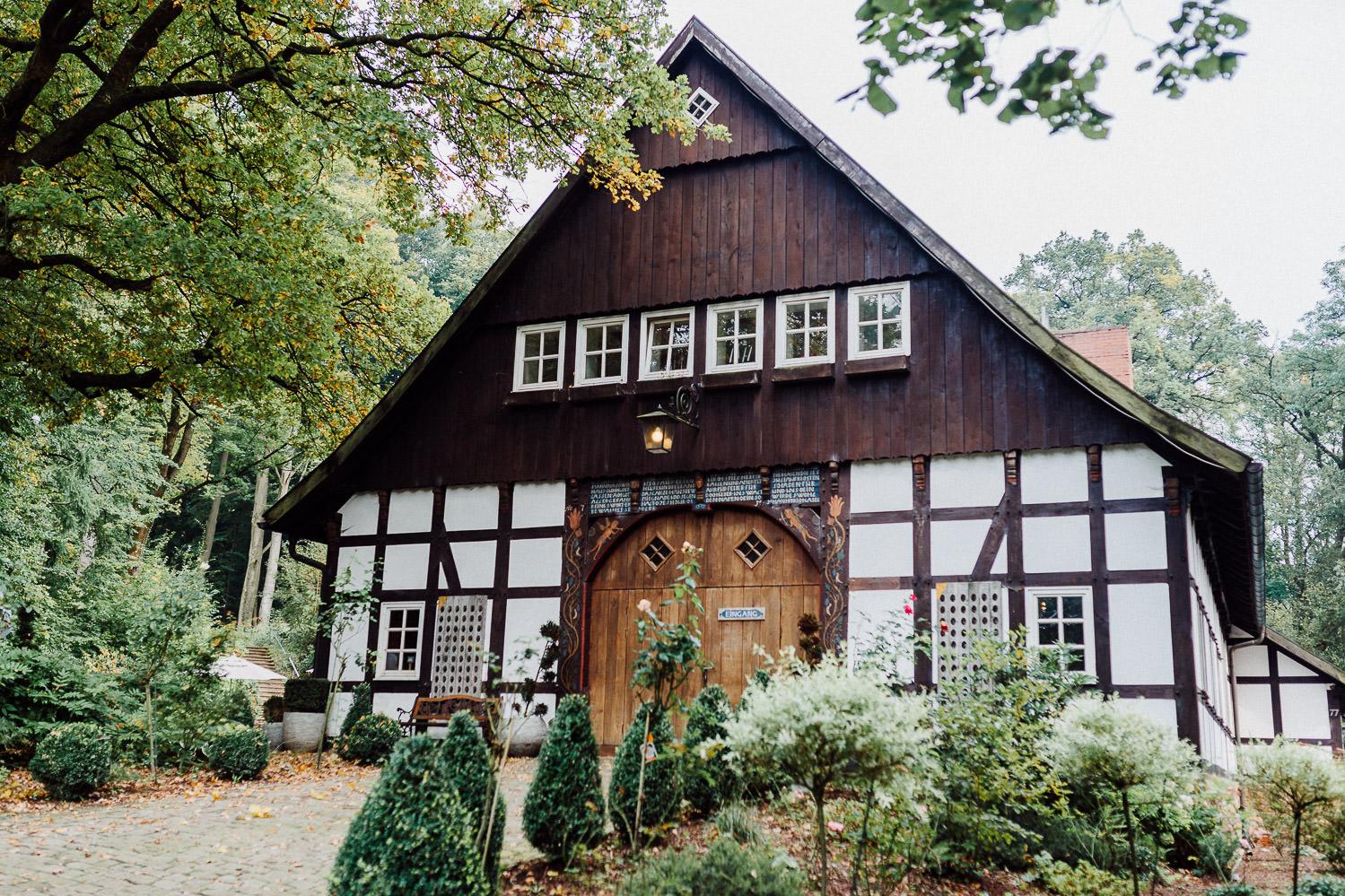 Fachwerkhaus Waterböhr schönste Orte zum Heiraten in Bielefeld