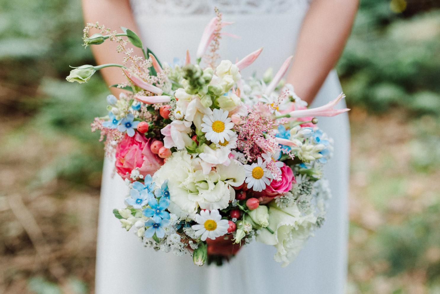Hochzeitsstrauß mit Margeriten