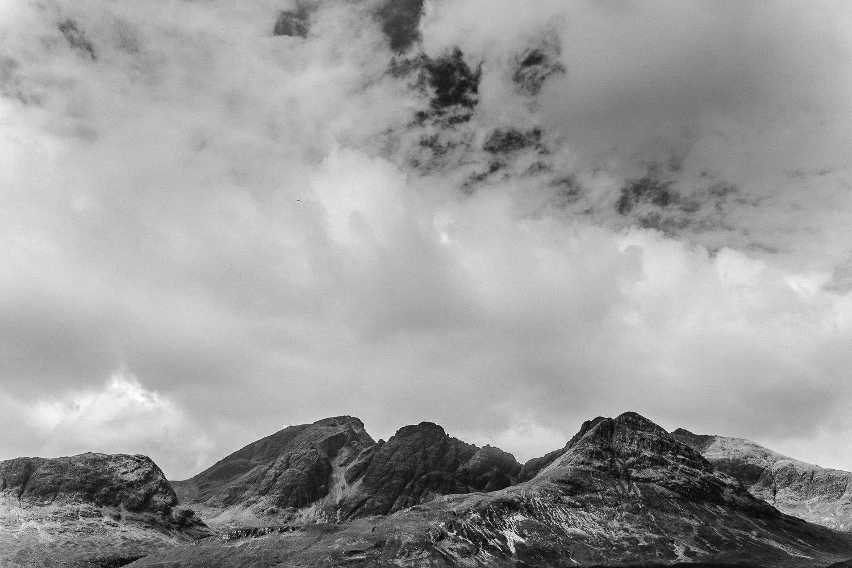 Bergmassiv in Schottland