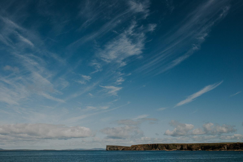 Blick auf Orkney Inseln Schottland